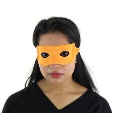 Ninja Style Super Hero Fancy Dress Eye Mask - Orange Michelangelo