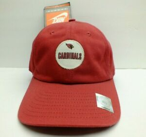 DEAD STOCK PHOENIX CARDINALS NFL HAT SLOUCH DAD STYLE CAP NIKE NEW