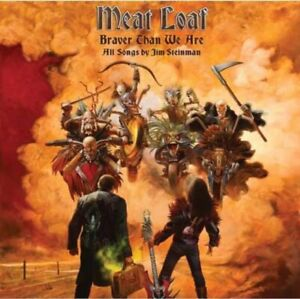 MEAT LOAF Braver Than We Are CD NEW & SEALED