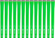 Karma Neion II Green Standard Size Golf Grips - Set of 13 - New