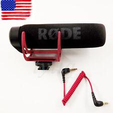 NEW Rode Videomic GO On Camera Shoe Mount Shotgun Rycote Lyre Onboard Microphone