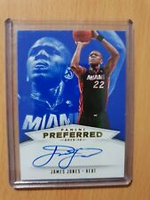 PANINI PREFERRED BASKETBALL 2013-14 AUTO CARD JAMES JONES No560 12/49