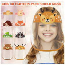 Children Kids Safety Full Face Shield Protective Clear Film Dustproof Anti-Fog