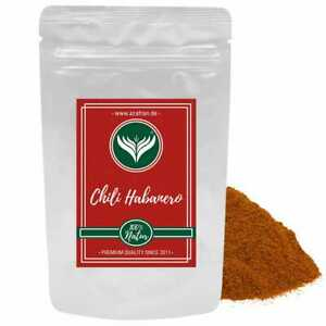 Habanero Chili | Chilipulver (scharf) aus Südamerika 100g