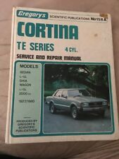 Ford Cortina TE 1977 - 1980  158A Gregorys Workshop Manual T25