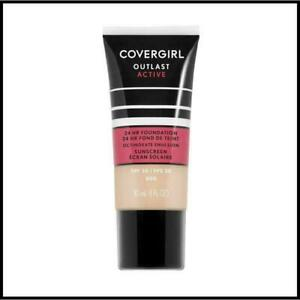 CoverGirl Outlast Active 24Hr Foundation ~ Choose From 17 Shades