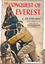 THE CONQUEST OF EVEREST-SIR JOHN HUNT-1954-2ND PRINTING
