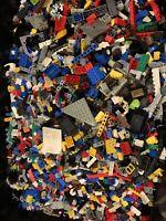 Lego 2 Pounds LBS Parts & Pieces HUGE BULK LOT Bricks Star Wars City Bionicles