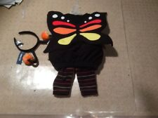NWT OLD NAVY MONARCH BUTTERFLY Halloween COSTUME *3 PIECE SET* GIRLS 6-12 MONTHS