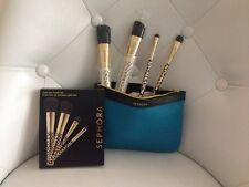 Sephora Limited Edition Gold Den Collection Brush Set Brand New! Beautiful Set!