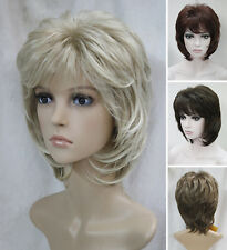Charming Women Ladies Short Fluffy Everyday Natural Daily Life hair Wig EF31