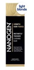 Nanogen Thickening Hair Fibres Light Blonde 30g 2 months supply Natural Keratin