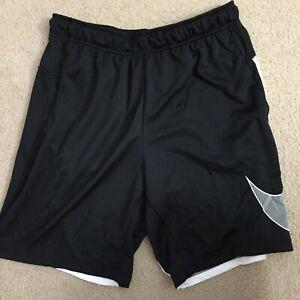 *BRAND NEW* Men Nike Training Dri Fit Dry Shorts Black/White Sz Med CJ6689-010
