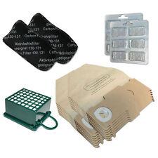 SET 12 Staubsaugerbeutel + Filter + Duft geeignet für Vorwerk Kobold 130 131 SC