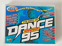 THE BEST OF DANCE MANIA 95 (1995) Double Cassette 44 Tracks VERY GOOD CONDITION