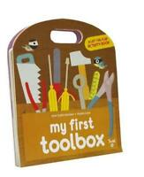 My First Toolbox: A Lift-the-Flap Activity Book by Anne-Sophie Baumann, NEW Book