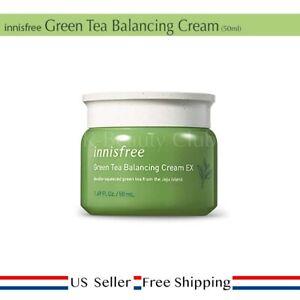 innisfree Green Tea Balancing Cream EX 50ml + Free Sample [ US Seller ]