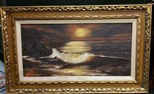 OIL ON CANVAS PAINTING FRAMED BY GEN KERR