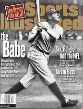 Sports Illustrated August 24 1998 BABE RUTH New York Yankees NEWSSTAND Mint NIB