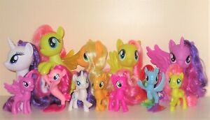 My Little Pony G4 brushable reboot series SELECTION Mane Six and more!