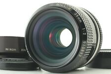 【N.MINT w/ HOOD】 Nikon Ai Converted NIKKOR 35mm F2 Wide Angle MF Lens Japan Y211