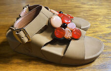 $110 fitflop Button  back strap platform walking trendy sandal women's 6