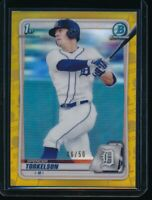 SPENCER TORKELSON 1st 2020 Bowman Chrome Draft GOLD REFRACTOR /50 Rookie Card RC