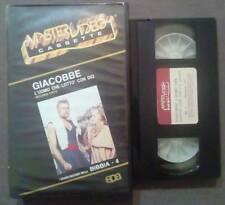 VHS fILM Ita Storico GIACOBBE L'Uomo Che Lotto'Con Dio Seconda Parte no dvd(VH50