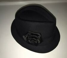 7344de50d0985 Scala Fedora Trilby Black Hats for Women
