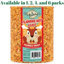 Mr. Bird Flaming Hot Feast Large Seed Cylinder 4 lb 3 oz