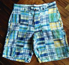 Bermuda uomo BROOKS BROTHERS Country Club Taglia W30 Pantaloni corti
