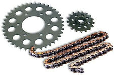 YAMAHA YZ250F 4 STROKE 2001-2017 CHAIN AND SPROCKET KIT STEEL 13/48 GOLD CHAIN