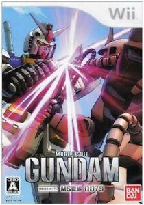 Wii Mobile Suit Gundam MS Sensen 0079 Nintendo