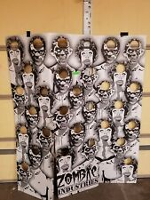 Zombie Industries Massive Target with Stand. Uses Clay Pigeons. Brand New