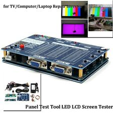LED LCD Screen Tester Tool Inverter LVDS+14 Cables For TV/Computer/Laptop Repair