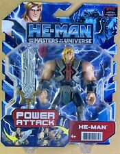 2021 He-Man and the Masters of the Universe Power Attack Action Figure-NEW Stock
