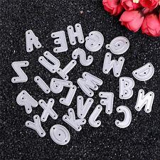 Alphabet Letter A-Z Metal Cutting Dies Stencil Scrapbooking DIY Paper Card Craft