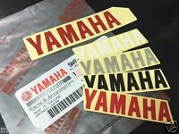 YAMAHA GENUINE TEXT BADGE LOGO  DECAL EMBLEM STICKER YZF R FZ FZ XT VMAX STAR