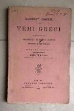 TEMI GRECI BOECKEL GRAMMATICA CURTIUS MULLER 1892