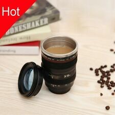 Photography Camera Lens Coffee Tea Mug Gift Cup Stainless Steel Travel Mugs
