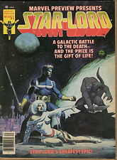 Marvel Preview #14 - Magazine Star-Lord - 1978 (Grade 8.0) Wh