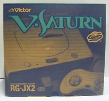 CONSOLE VICTOR V SATURN RG-JX2 JAPAN BOXED RARE