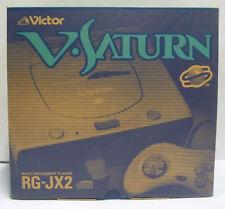 CONSOLE VICTOR V SATURN RG-JX2 JAPAN BOXED RARE