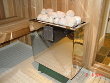 SAUNA HEATER by DreamSauna BUILT FOR POURING WATER ON THE ROCKS. 5 YEAR WARRANTY