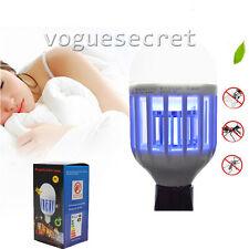 NEW 15W Mosquito killer Lamp 2 In 1 LED Bulb Lightbulb Bug Light Zapper 110V E27