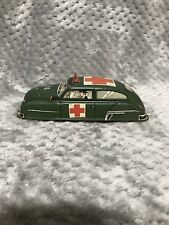 "Vintage,Early,Marx Lupor Tin Friction 7"" Military Ambulance"