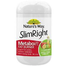 Nature's Way Slimright Metabolift Tabs 90S Improve Metabolic Rate Fat Loss