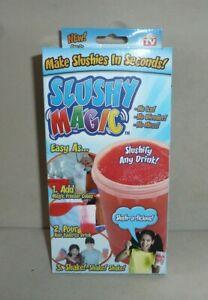 Slushy Magic Makes Slushies in Seconds! NEW NIB (AS SEEN ON TV)