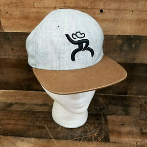 "Hooey ""Roughy"" Flat Bill Snapback Trucker Hat Cap YOUTH Adjustable ."