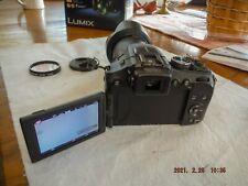 Panasonic LUMIX DMC-FZ200 12.1MP Digital Camera - Black with extras, light use.